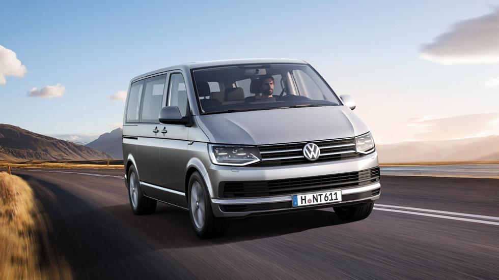 Volkswagen T6, el juego de las 500 combinaciones