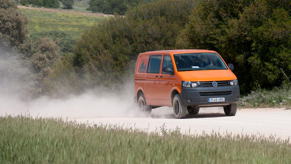 VW Vehículos Comerciales: al completo con tecnología 4Motion