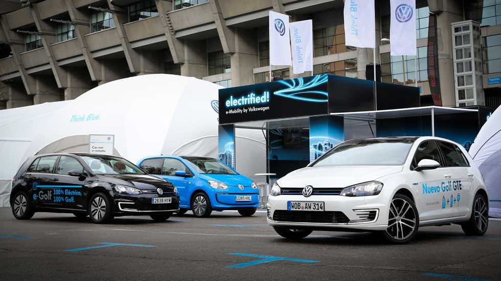 Volkswagen, la marca más vendida en España