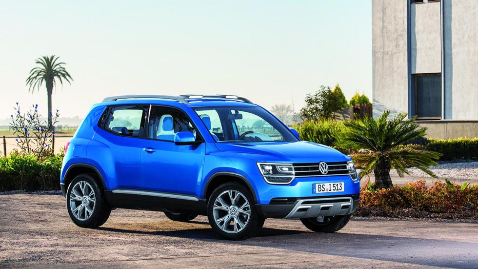 El Volkswagen Taigun podría estar listo en 2016
