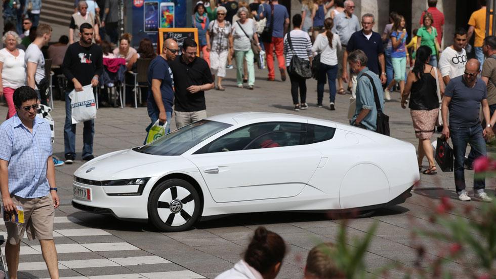 Prueba: Volkswagen XL1, el rey de los avaros