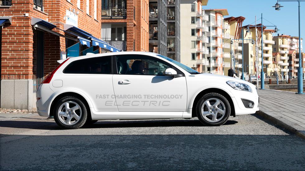 Volvo C30 eléctrico, ahora con menos tiempo de carga