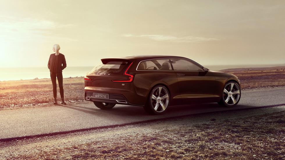 Volvo Concept Estate, adelantando el interior de los futuros Volvo