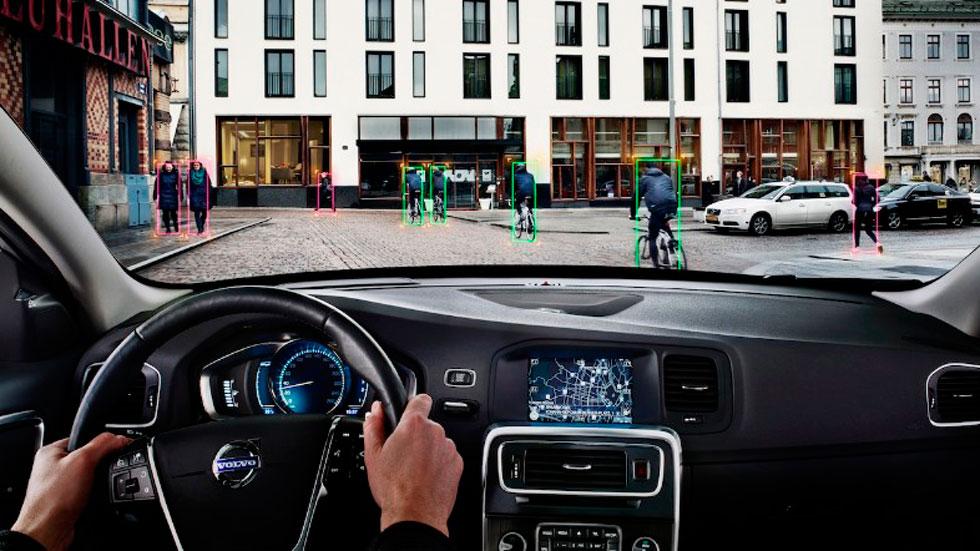 Nuevo sistema de detección de ciclistas de Volvo