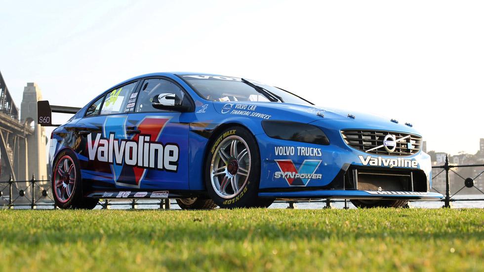 Volvo S60 V8 Supercar: listo para las carreras australianas