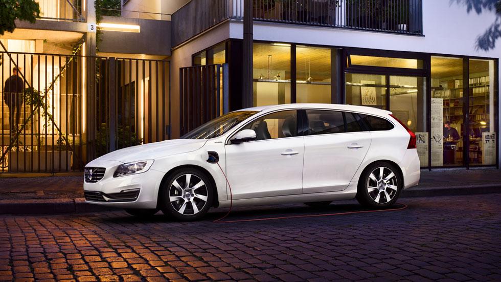 Volvo V60 Diesel Plug-in Hybrid, en el Salón de Nueva York
