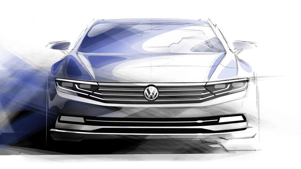 Primeros bocetos del VW Passat