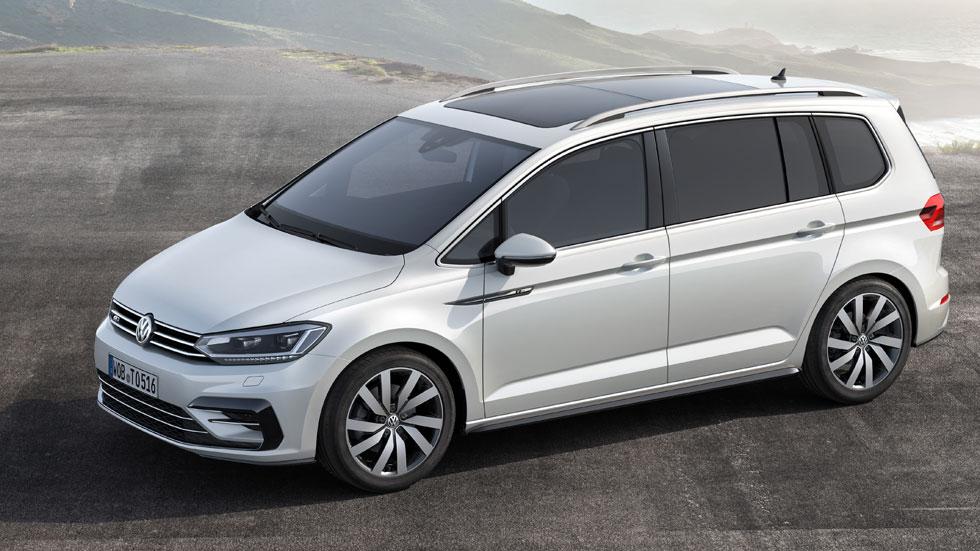 El VW Touran 2015 debuta en Ginebra