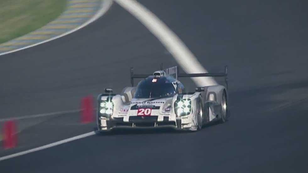 Los últimos minutos de tensión en Le Mans (3er capítulo)