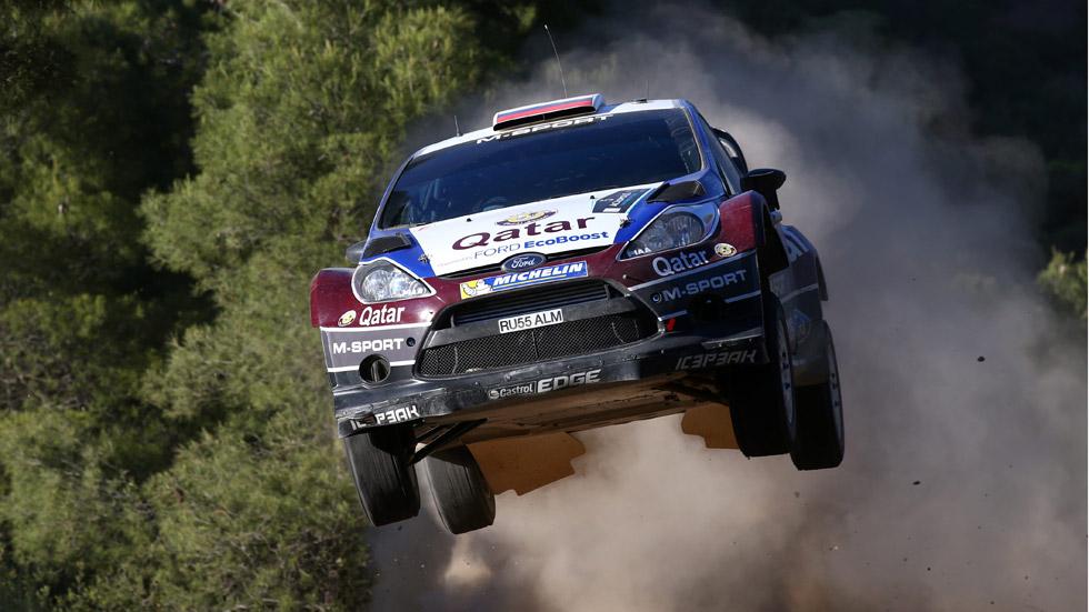 WRC Grecia, viernes: Novikov, líder ante la debacle