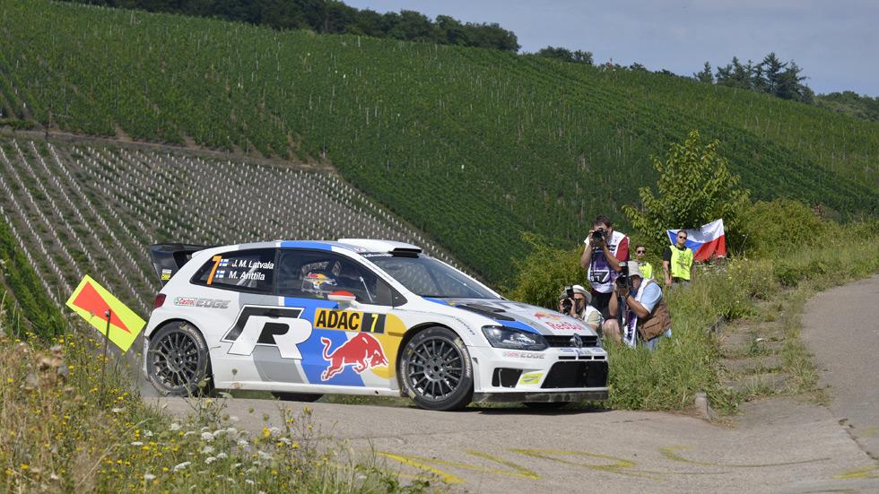 Rallye de Alemania – sábado: Latvala se despega
