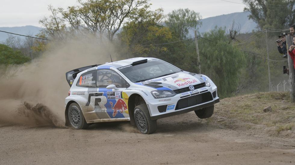 WRC Argentina, jueves mitad de etapa: Ogier lidera, Sordo vuelca