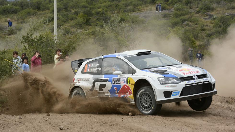WRC Argentina: Sébastien Ogier (Volkswagen), primer líder