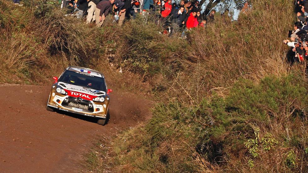 WRC Argentina, viernes: Golpe de timón de Loeb