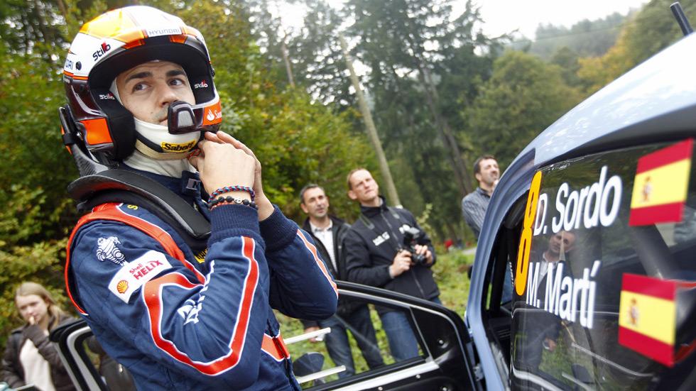 WRC: Dani Sordo seguirá con Hyundai en 2015 y 2016