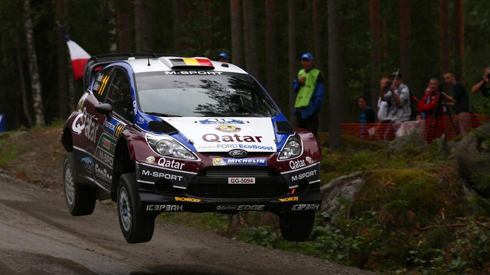 Rallye de Finlandia – jueves: Ogier y Neuville, empatados