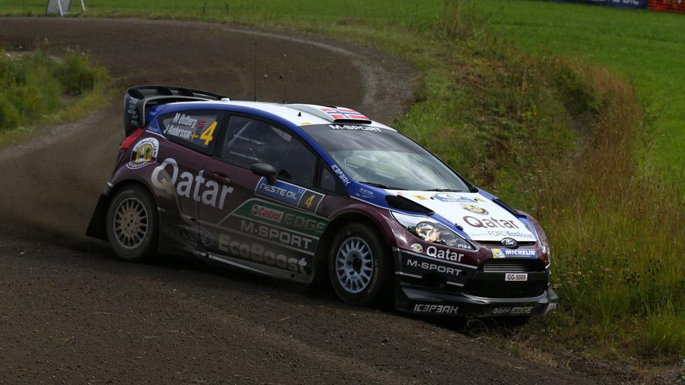 Rallye de Finlandia – viernes: Ostberg, nuevo líder