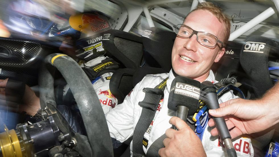 "Jari-Matti Latvala: ""Van a ser dos días muy largos"""