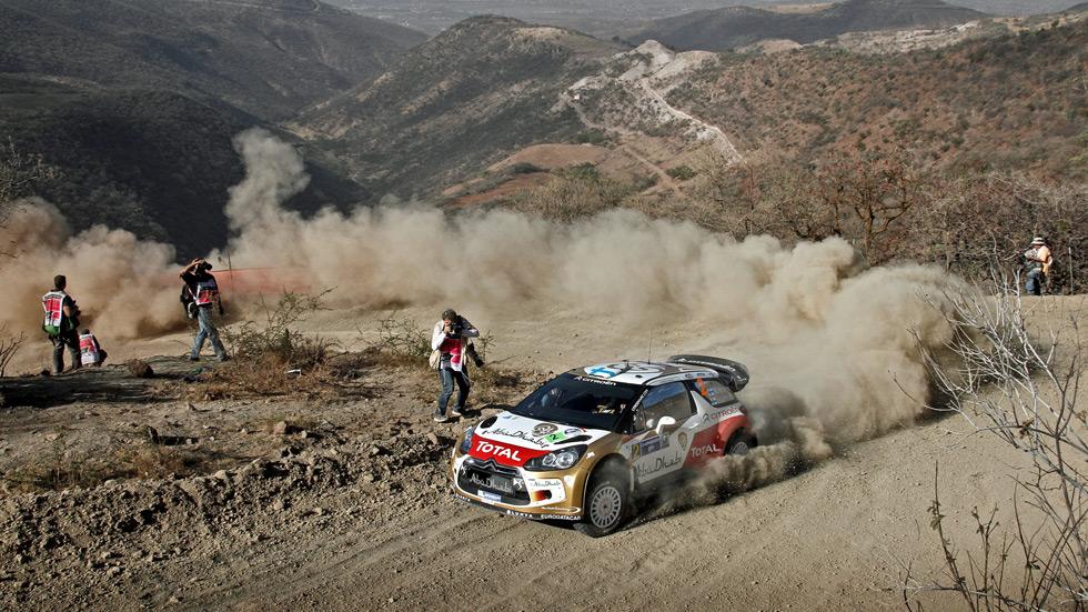 Calificación Rallye de México: Hirvonen y Citroën imponen su experiencia