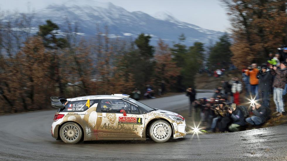 Rallye de Montecarlo – jueves: Loeb, sorprendente líder inicial
