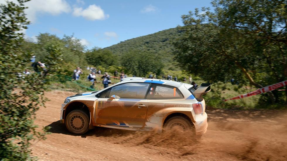 Rallye de Portugal - viernes: Ogier lidera un rallye muy apretado