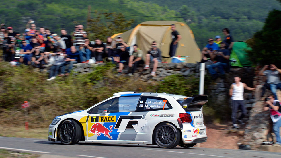 Rallye de España – sábado: Latvala líder, a falta de la tierra