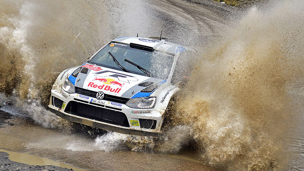 Rallye de Gales – viernes: Ogier, lanzado