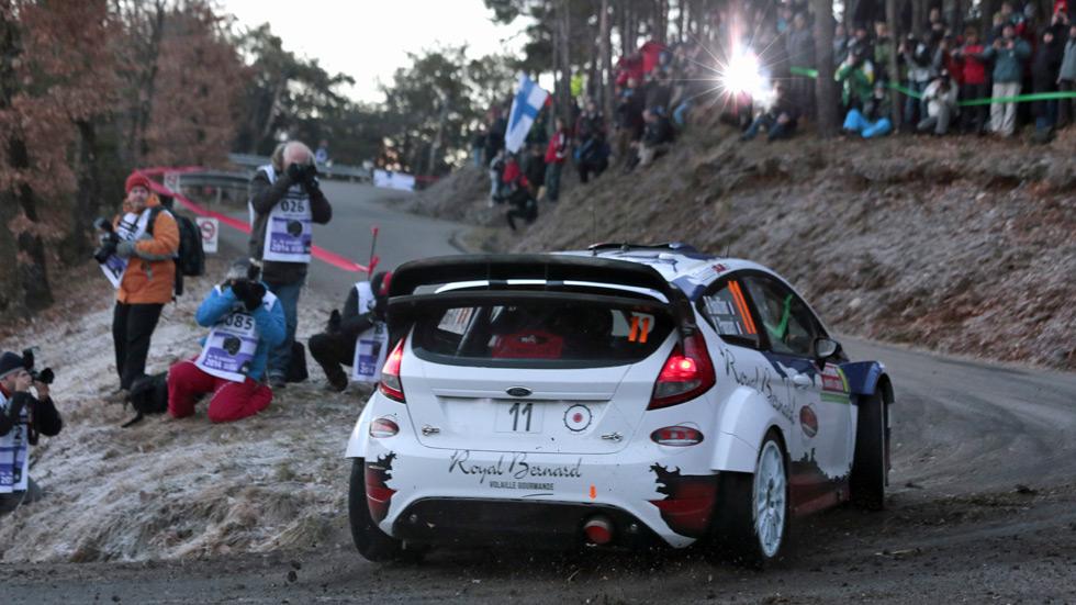 Rallye de Montecarlo – viernes: Bouffier contiene a Ogier