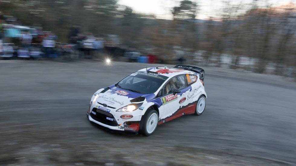 Rallye de Montecarlo – jueves: Bouffier resiste en cabeza