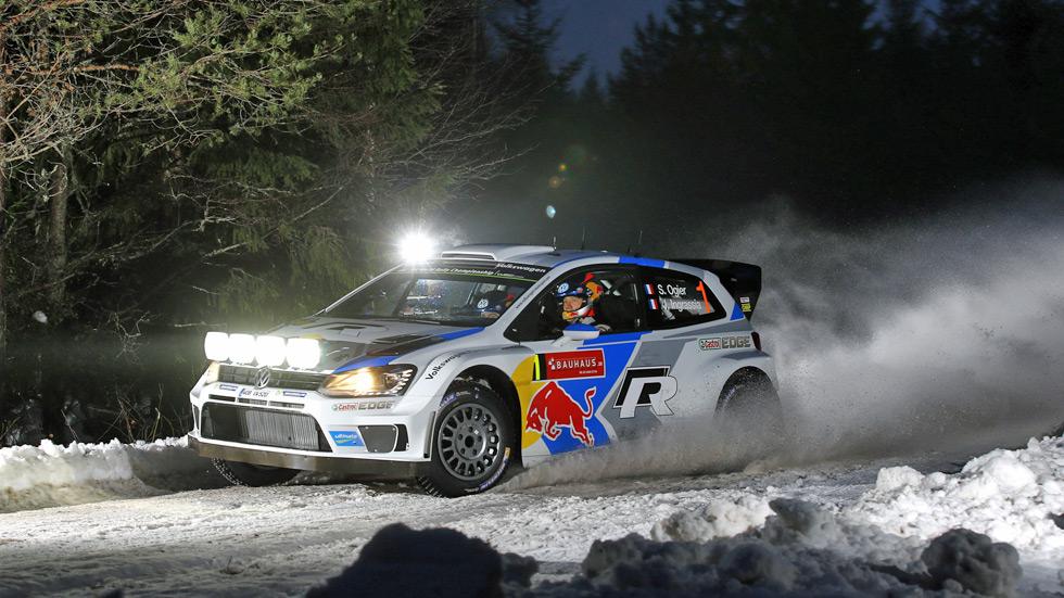 Rallye de Suecia - jueves: Ogier lidera, Volkswagen controla