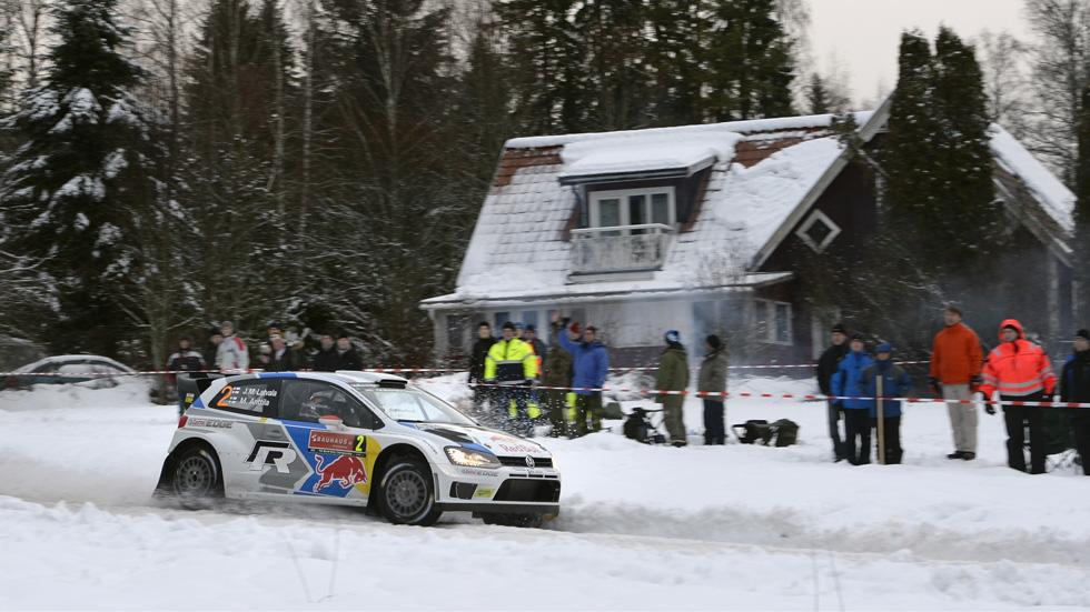 Rallye de Suecia – sábado: póker de Latvala en los tramos de la mañana