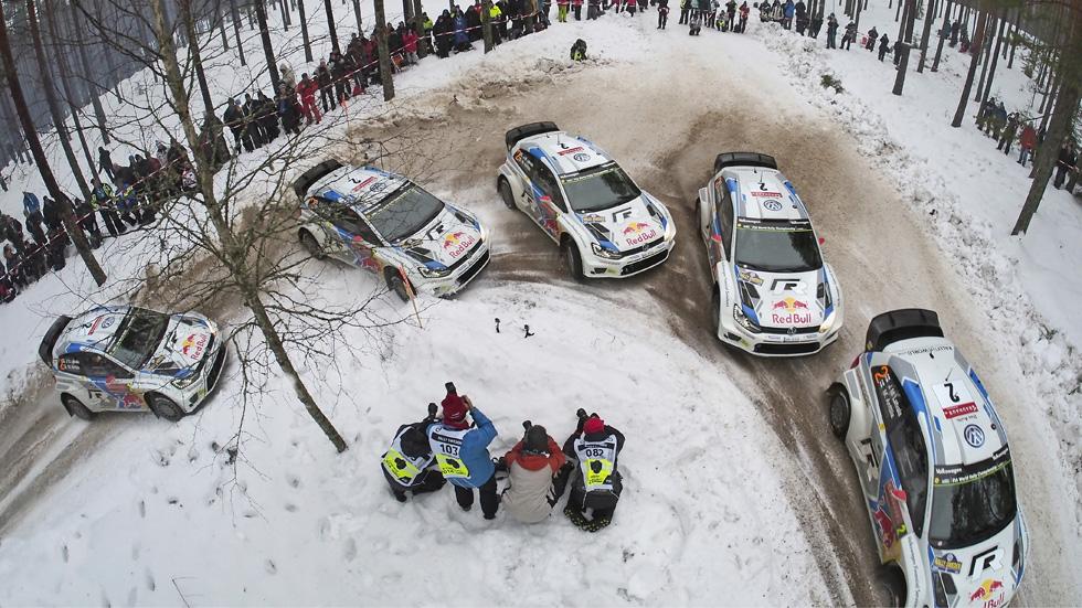 Rallye de Suecia – viernes: Latvala, líder tras un error de Ogier