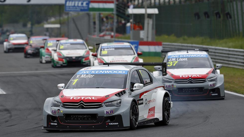 WTCC – Hungaroring: Muller y Citroën, protagonistas