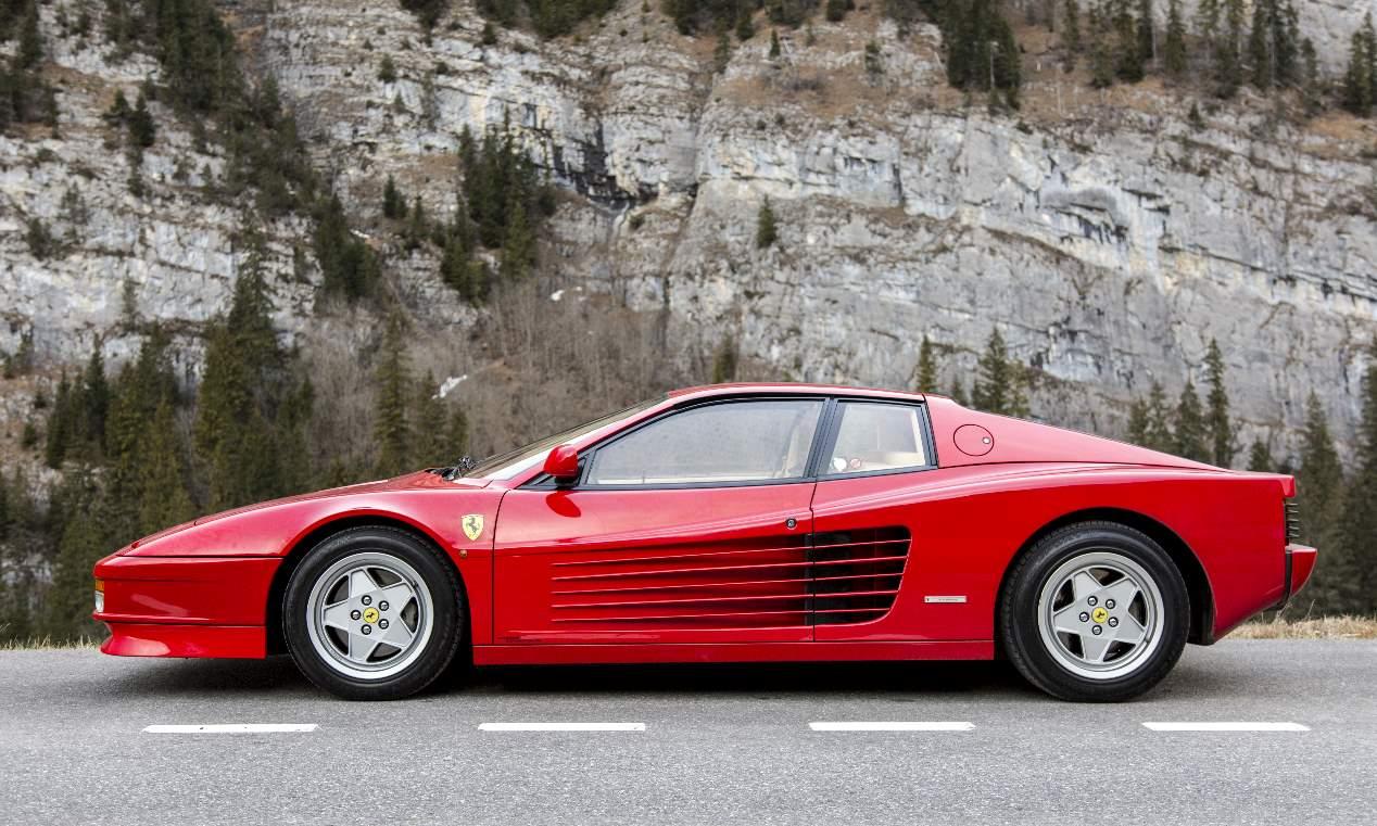 Ferrari Testarossa: un deportivo mítico, en fotos
