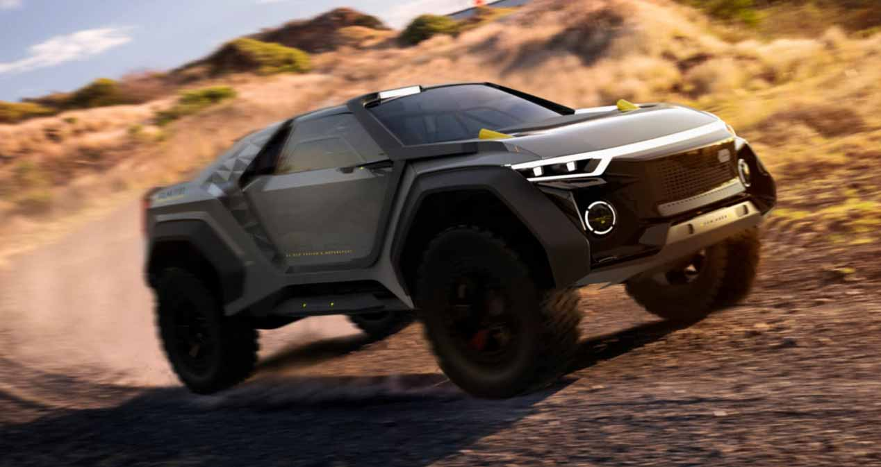 Golem: el 4x4 más brutal Made in Spain