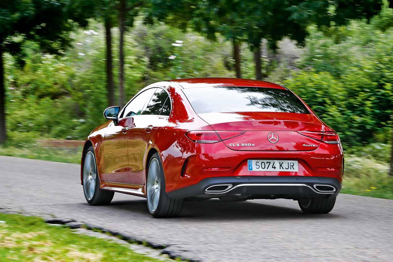A prueba el Mercedes CLS 350d: eficiente, deportivo y elegante