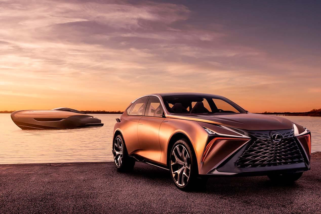 Lexus comercializará su nuevo yate Premium en 2019