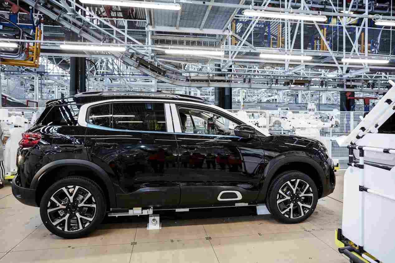 Citroën C5 Aircross: así es su fábrica