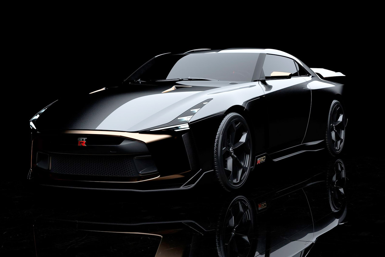 Nissan GT-R 50th by Italdesign: el GT-R sin límites