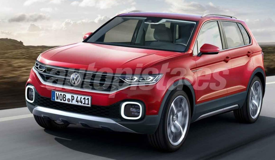 Volkswagen T-Cross: el nuevo SUV pequeño, más cerca