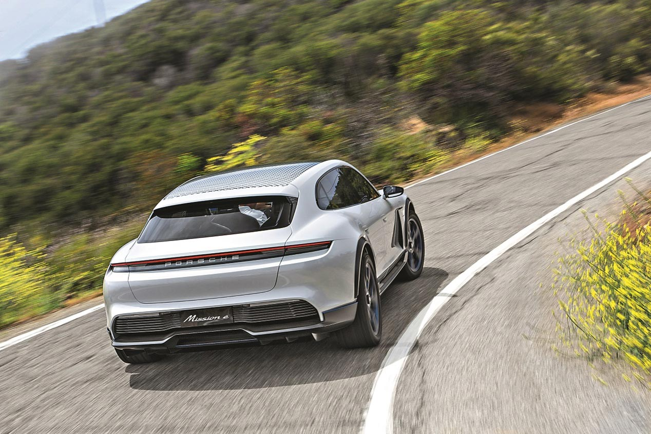 Porsche Mission eCross Turismo, ¡espectacular!
