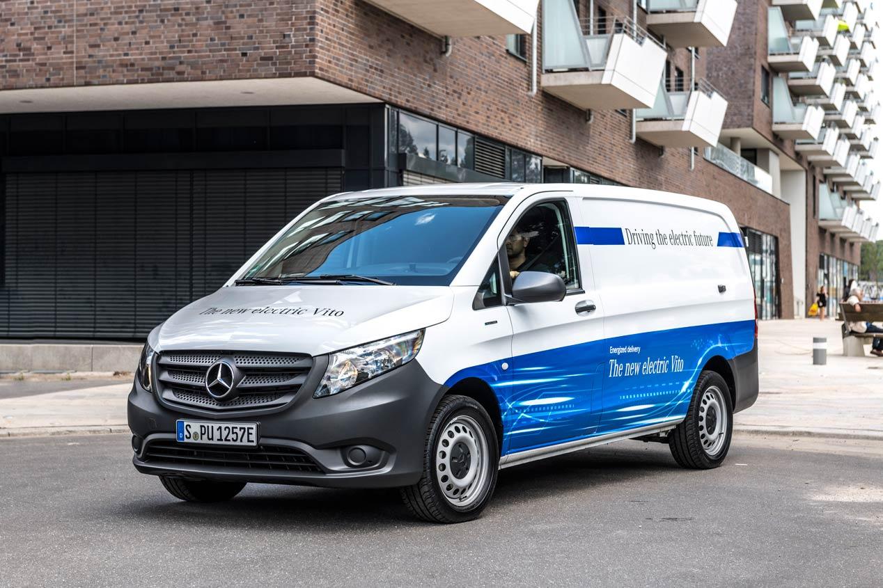 Así son las nuevas Mercedes Vito y Sprinter eléctricas