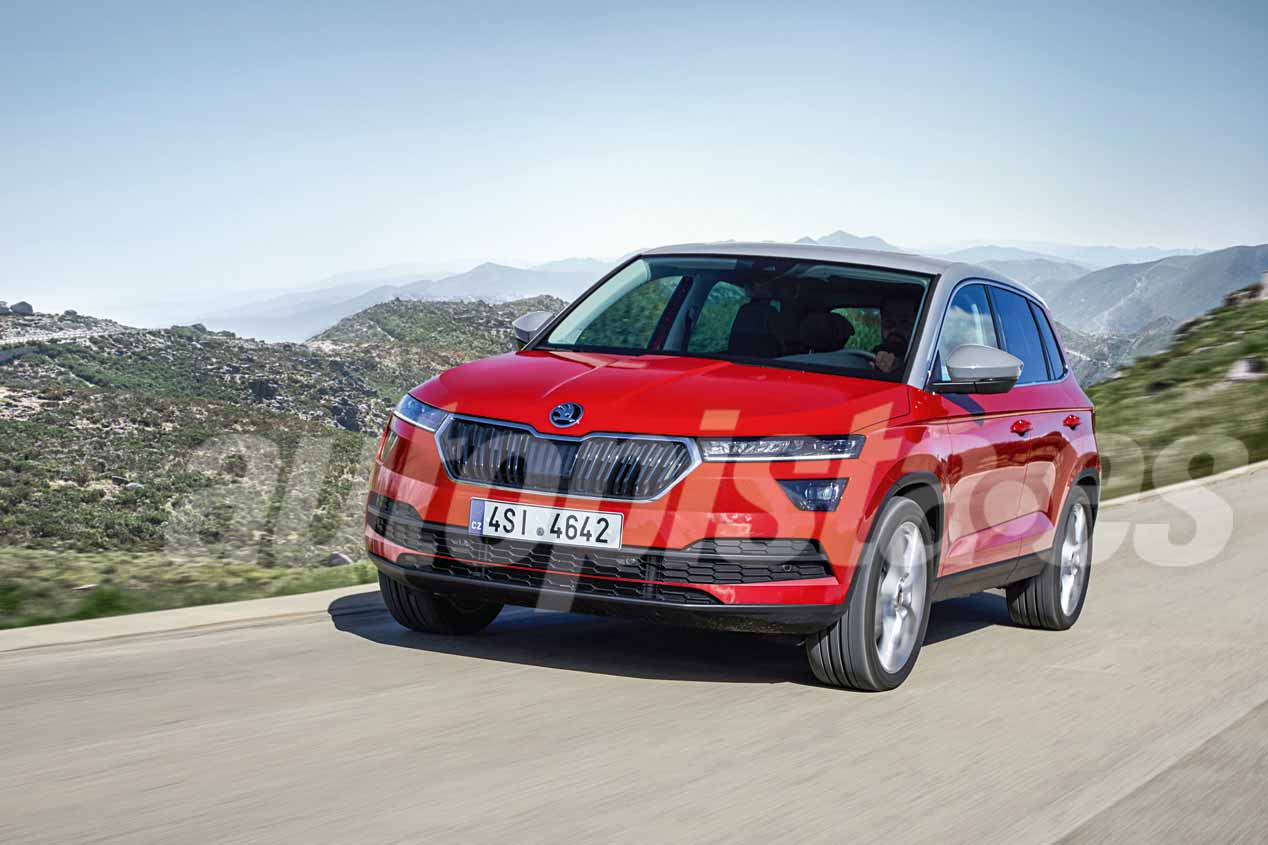 skoda suv 2019 el seat arona checo listo para el a o que viene novedades. Black Bedroom Furniture Sets. Home Design Ideas