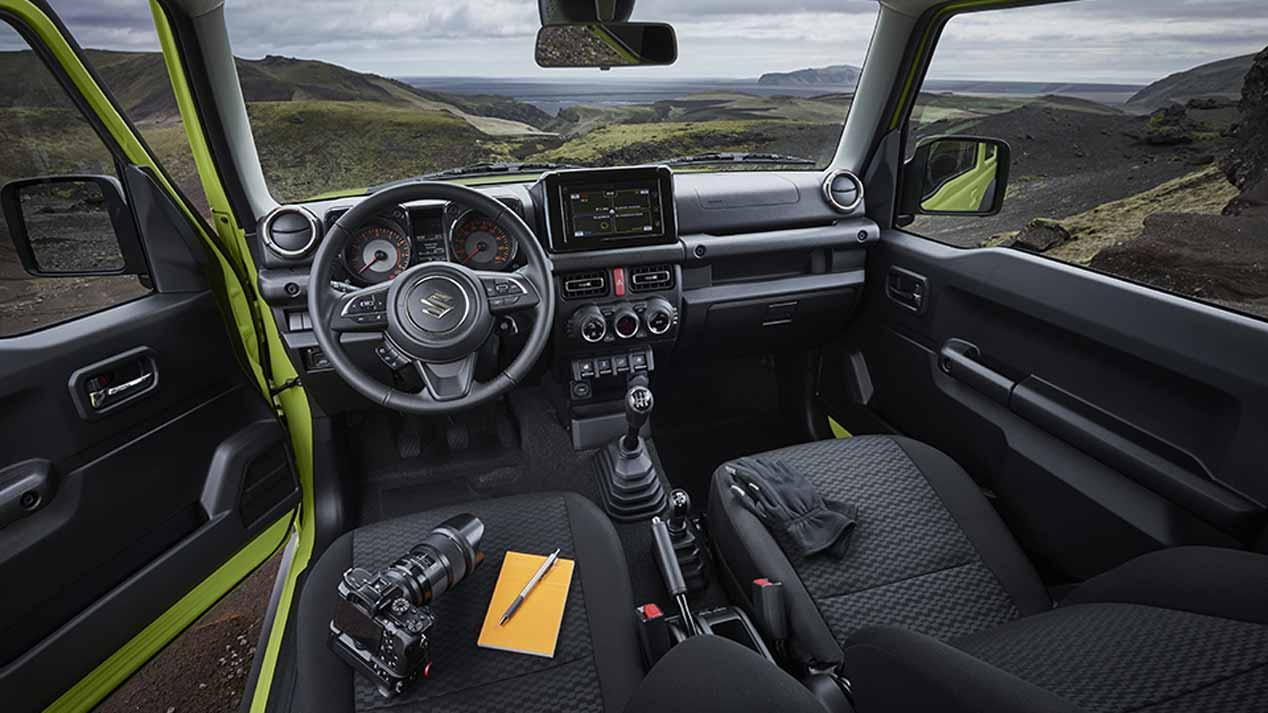 Suzuki Jimny 2019: las mejores imágenes oficiales del pequeño 4x4
