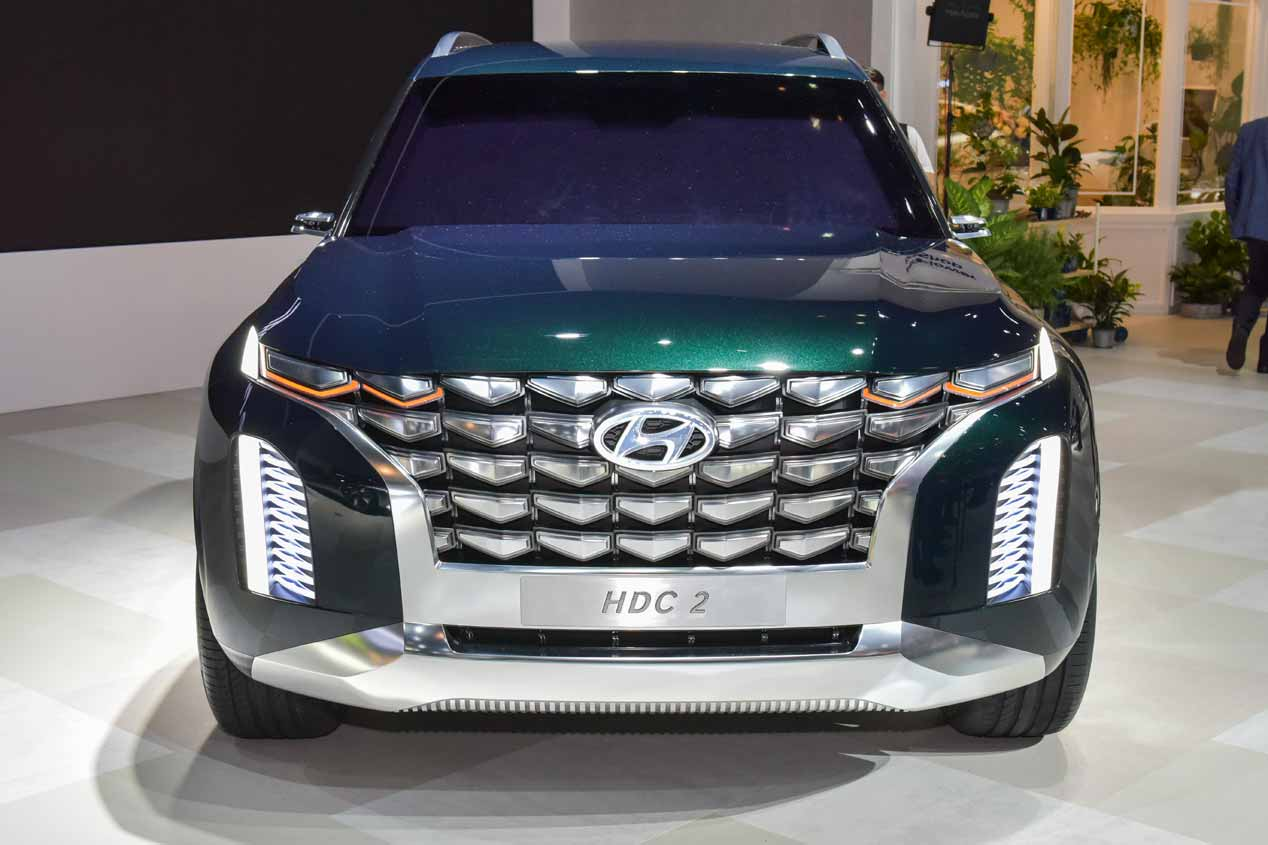 Hyundai Palisade 2020: el nuevo gran SUV toma forma