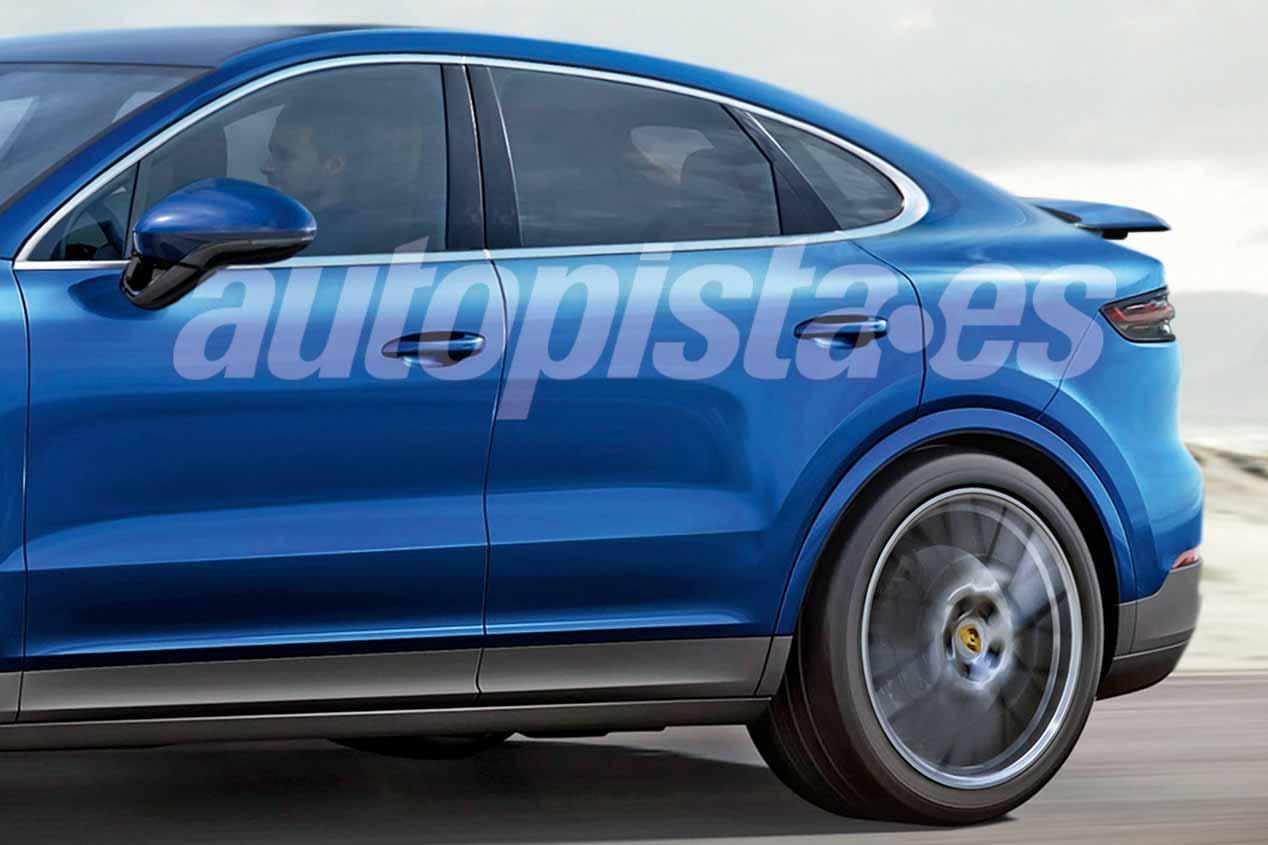 Porsche Cayenne Coupé 2020: primeras imágenes del nuevo SUV