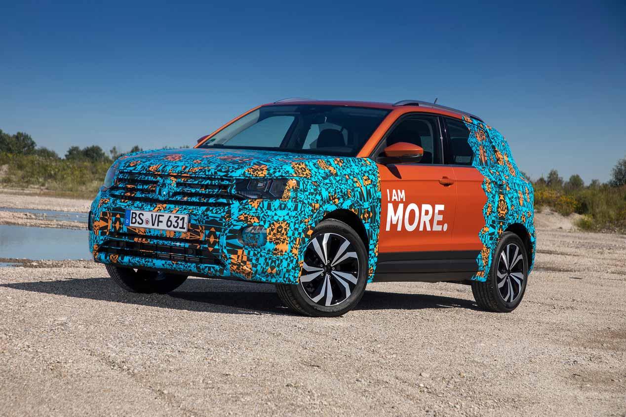 """VW T-Cross: el nuevo SUV """"hermano"""" del Arona, en imágenes"""