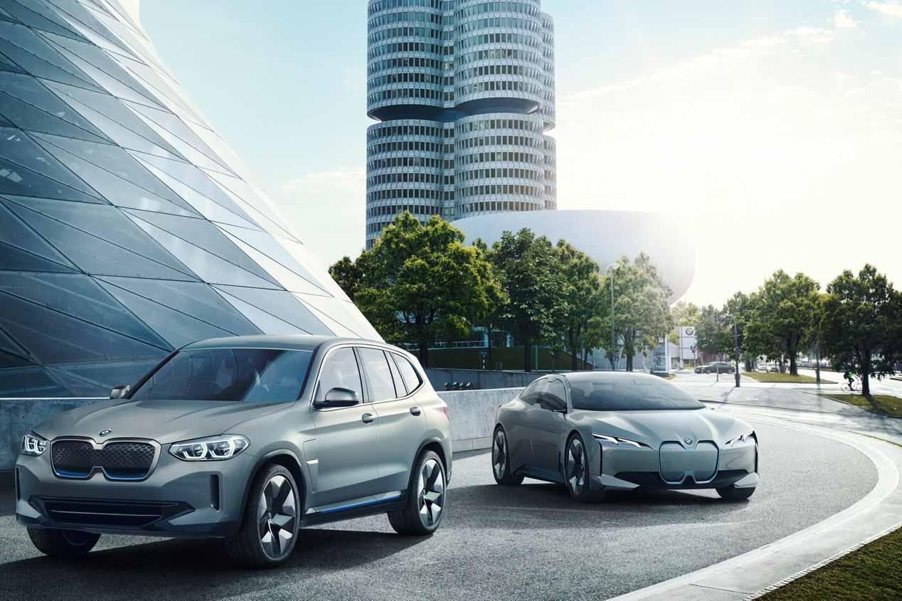 El nuevo BMW iX3 eléctrico empezará a fabricarse en 2020