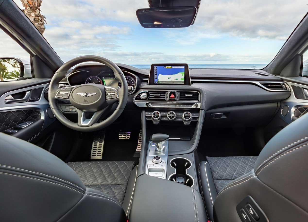 Genesis G70, más deportivo y elegante que nunca