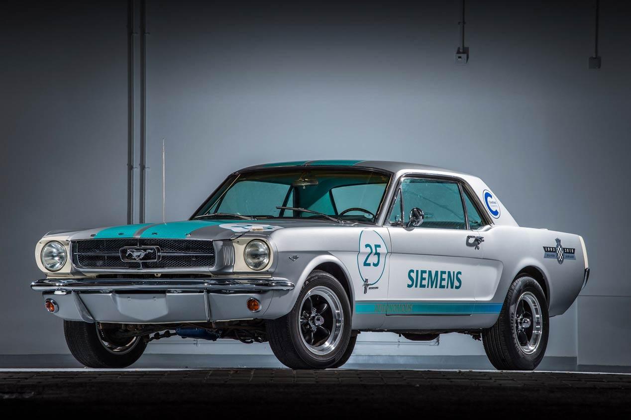 El Ford Mustang de 1965 que subirá solo el circuito de Goodwood